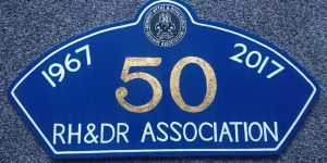 Association 50th anniversary headboard