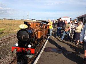 No 4 The Bug on Heritage tour at Dungeness