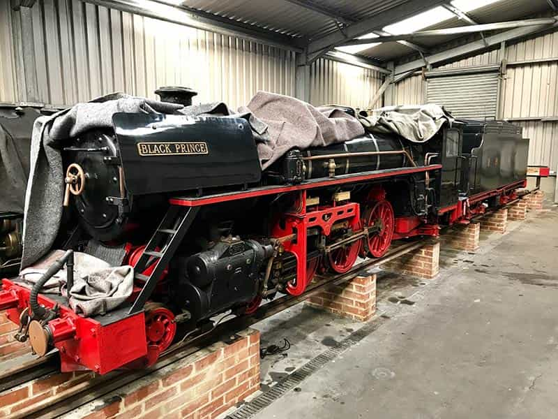 Black Prince stored at New Romney